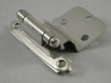50 (25 pair) AMEROCK CABINET HINGES SATIN NICKEL 3/8 INSET
