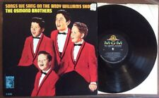 The OSMOND Brothers ~ Andy Williams Show ~ vinyl LP E-4146 Donny Osmond TOP COPY