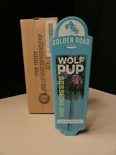 New Golden Road Wolf Pup Session Ipa Man Cave Beer Tap Handle Pull Kegerator Lot