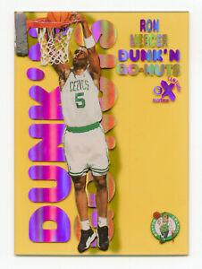 RON MERCER 1998-99 Skybox E-X Century Dunk 'N Go Nuts Insert Card Celtics SP #19