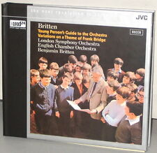 XRCD JVCXR 0226-2: BRITTEN - Young Person's Guide To Orchestra - 2003 JPN SEALED