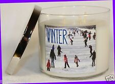 Bath & Body Works WINTER 3-Wick Filled 14.5 oz Candle WINTER 2013