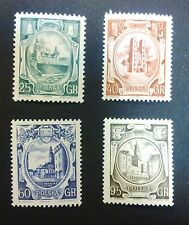 POLAND STAMPS MNH 2Fi798-1 Sc705-8 Mi942-5 - Recovery of Western Lands, 1955, **