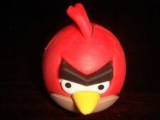 Rare RED Angry Birds Puzzle Rubber Eraser Licensed Product