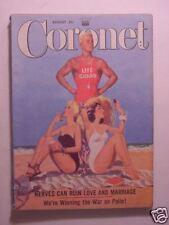 CORONET August 1952 CHARLES LAUGHTON WESLEY SNYDER ISRAEL BROOKLYN DODGERS +++