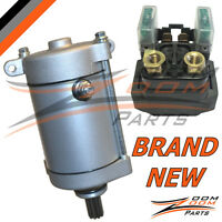 Yamaha Grizzly 660 Starter Relay and Starter Motor 5KM-81890-00-00  4SV-81800-00