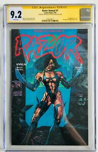 Razor Annual 1 First Appearance Shi Signed Tim Vigil Bad Girl Tucci CGC SS 9.2