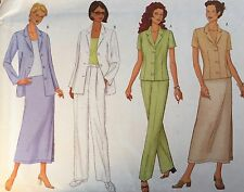 VINTAGE 2000 'BUTTERICK' SEPARATES SEWING PATTERN 6546 - 12-16 - CUT TO 16