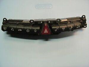 1999-2006 MERCEDES-BENZ W220 S430 S500 DASH CONTROL SWITCH HAZARD 2208218158