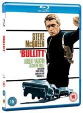 BULLITT (1968): BLU-RAY Steve McQueen - Classic Mustang vs Charger Car Chase NEW