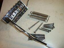 "Genuine Fender Full Block Strat 2 1/16"" Mex Bridge Trem Vibrato Bar Full Block"