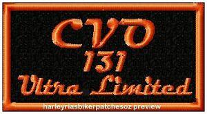 CVO 131 Ultra Limited -   BIKER PATCH