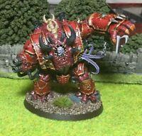 Painted Warhammer 40k Helbrute - Dark Vengeance Chaos Space Marine