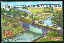 """UM-MT Models 1/72 SOVIET WWII ARMORED TRAIN """"DZERZHINETS"""""""