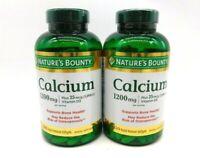 Nature's Bounty Absorbable Calcium Plus 1000 IU Vitamin D3-1200 mg-400 Softgels