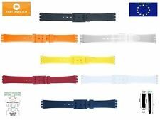TOP QUALITY Ladies Resin Strap 12mm (14mm) for Swatch + FREE PINS included