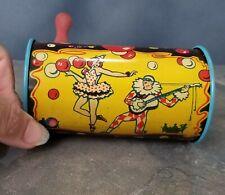 Circus Fun Noise Maker! Vintage 1930's Kirchhof Newark Metal Toy