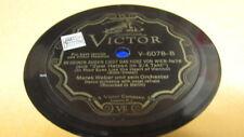 MAREK WEBER VICTOR 78 RPM RECORD 6078 IN DEINEN AUGEN LIEGT DAS HERZ VON WIEN