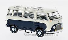 wonderful modelcar FORD TRANSIT PANORAMABUS 1962  - darkblue/white - ltd.ed.500