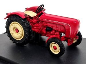 Hatchette 1/43 Scale - Porsche Super 1958 Red Diecast & Plastic model tractor