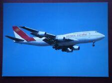 POSTCARD AIR INDIA BOEING 747-337 VT-EPX AT PARIS
