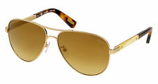 LANVIN SUNGLASSES SLN037M   AVIATOR FRAME BRAND NEW GOLD TURTLE