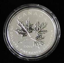 2011, Canada Proof Silver $10 Coin, Maple leaf Forever.