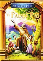 El Padre Pio: Father Pio (Historias De Fe) NEW DVD REGION 1&4 IDIOMA:ESPANOL