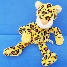 Nici Leopard Soft Cat Wild Friends 15 11/16in Stuffed Toy Beanie Leppard