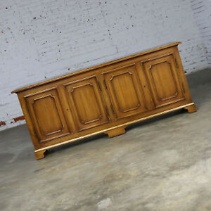 ON SALE! John Widdicomb Painted Hollywood Regency Buffet Credenza Gilt Accents