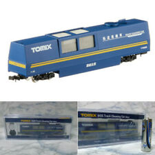 TOMIX N Scale 6425 Track Cleaning Car Blue