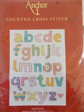 """Cross stitch Kit """" A  to Z """" New by Anchor"""