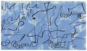 Joan Miro original lithograph, 1956 bbb