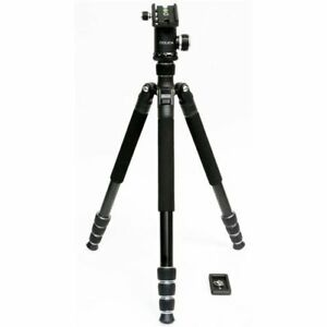 Dolica LX650B502 D/S 65in Alluminum Alloy Professional Tripod with Built-In Mono