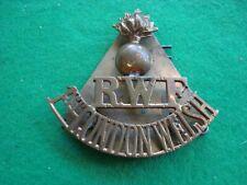 More details for original shoulder title wwi rwf 1st london welsh royal welsh fusiliers badge