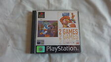 PS1 GAME DONALD DUCK  / & WINNIE TIGGERTS HONEY HUNT For PlayStation 1 & 2 2000
