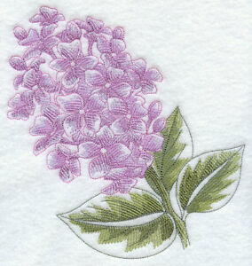 LILAC BEAUTY STUNNING NEW BATHROOM TOWELS EMBROIDERED BY LAURA