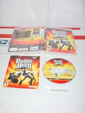 GUITAR HERO: WORLD TOUR game only w/ Manual for Sony Playstation 3 PS3