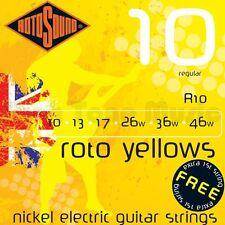 Rotosound Roto Yellow Electric Guitar Strings 10-46 Regular