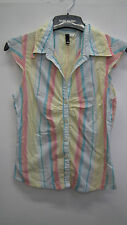 Multi Coloured Striped Shirt from H&M size 10