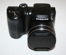 Samsung WB100 Digitalkamera [16,2 Megapixel, 26-fach opt. Zoom, 3 Zoll - 7,6cm ]