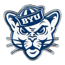 BYU Cougars Auto or Hard Surface Emblem Decal NCAA Licensed