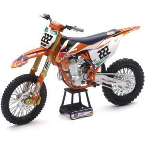 Maisto MX KTM Redbull 450 SX-F Cairoli 1:10 Motocross Dirt Bike Toy