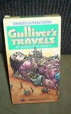 Gulliver's Travels (VHS, 1994) Jonathan Swift Color Animated Classic 1939