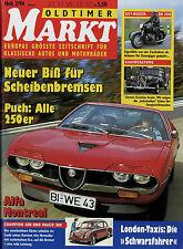 Markt 2/94 1994 Alfa Romeo Montreal Champion Maico 500 IFA MZ BK 350 VW Brasilia