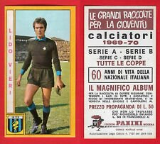 FIGURINA CALCIATORI PANINI 1969/70 - NUOVA/NEW - VIERI - INTER