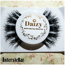 3D MINK EYELASHES LONG THICK WISPY LASHES 100% LUXURY MINK GENUINE INTERSTELLAR