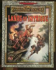 Advance Dungeons & Dragons Forgotten Realms A Grand Tour Of The Realms Book +Box