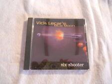 """Vic Lecar's Blue Moon """"Six Shooter""""  2002 cd  Melodic Mayhem USA Printed"""