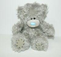 "Me to You Tatty Teddy Bear 5"" plush Gray stuffed Blue Nose Original"